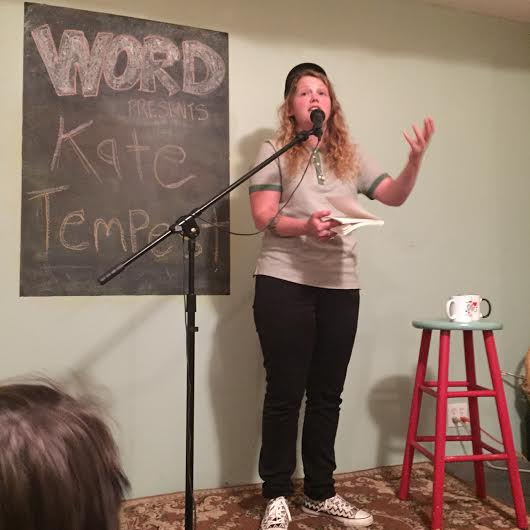 Kate Tempest WORD Bookstore Photo 3