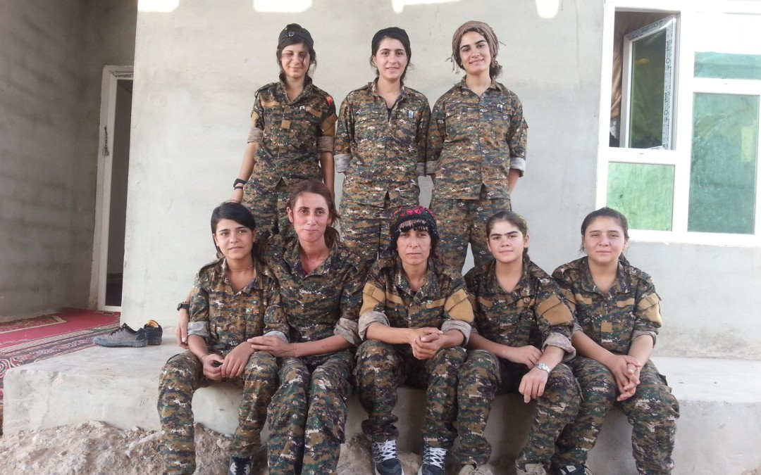 Women Protection Unit Challenging Patriarchal Mentality in Sinjar