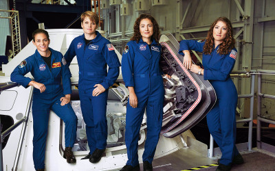 Would You Go to Mars? Meet the Four Women Astronauts Who Can't Wait to Get There
