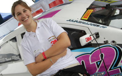 Julia Ballario: Racing in a male-dominated career