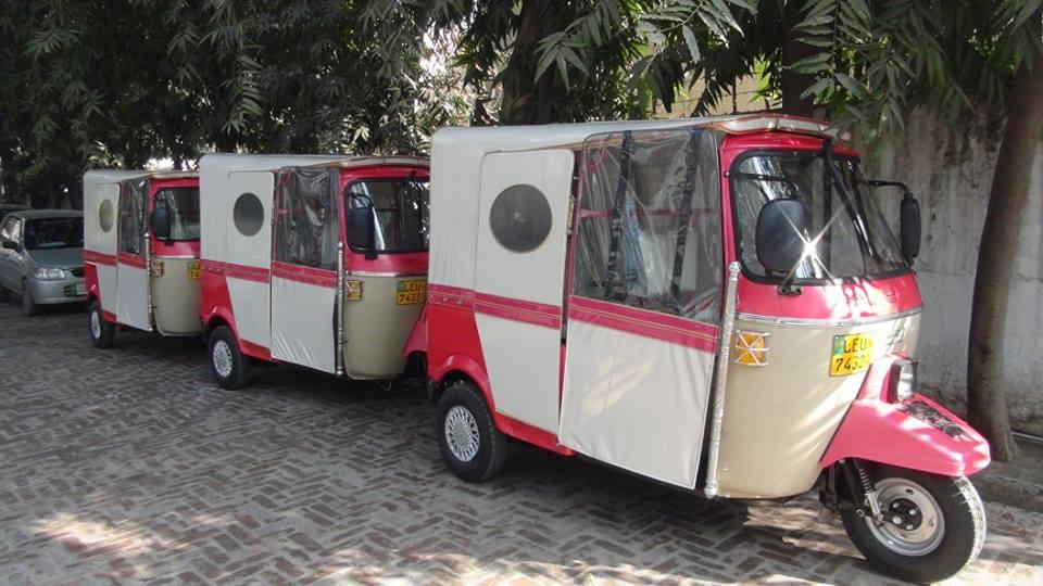 Pink Power: Female Rickshaw Drivers in Pakistan