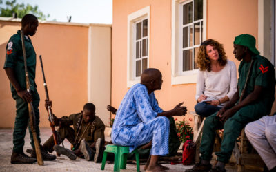 Reporting from West Africa for the New York Times