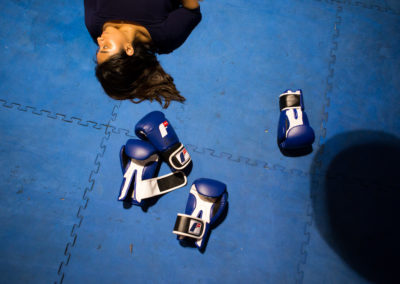 """Boxing makes me feel like I am in control of the world."" – Ita, 17"