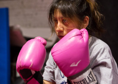 """I wanted to show people that I can be strong. I wanted them to understand that a young girl like me is able to be fearless."""" — Cinthia, 14"""