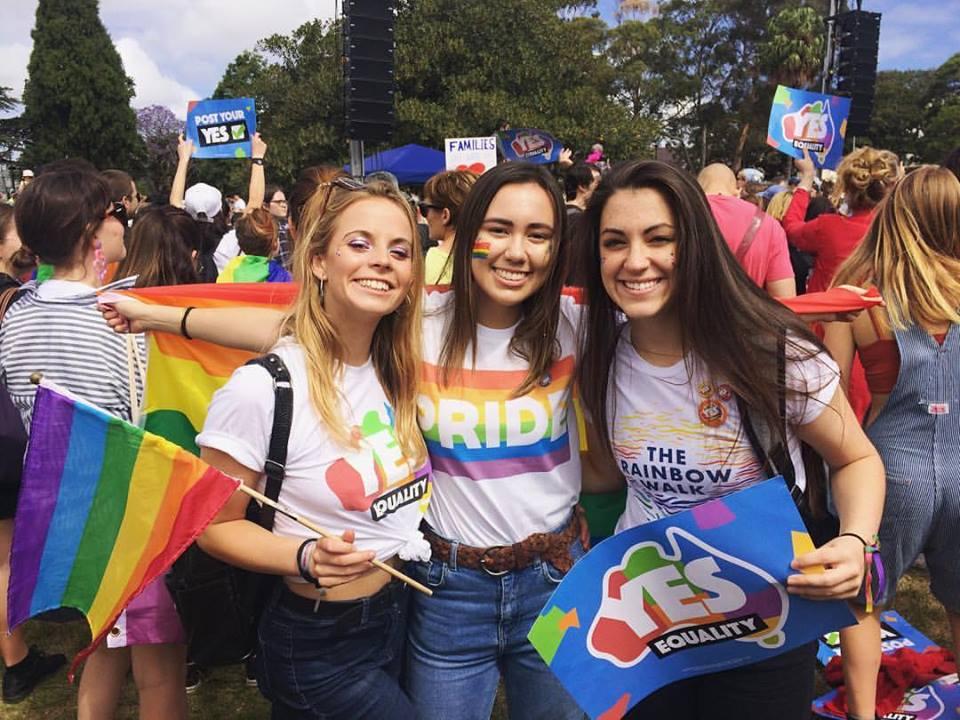 Photo Credits: Rachel Aitken / *Rachel Aitken is an LGBTQIA activist studying in Sydney.