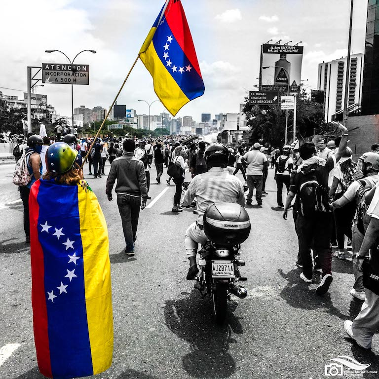 Street protests from May 2017. Credit: Flickr