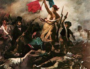 Delacroix, Liberté Guidant Le Peuple (1830)