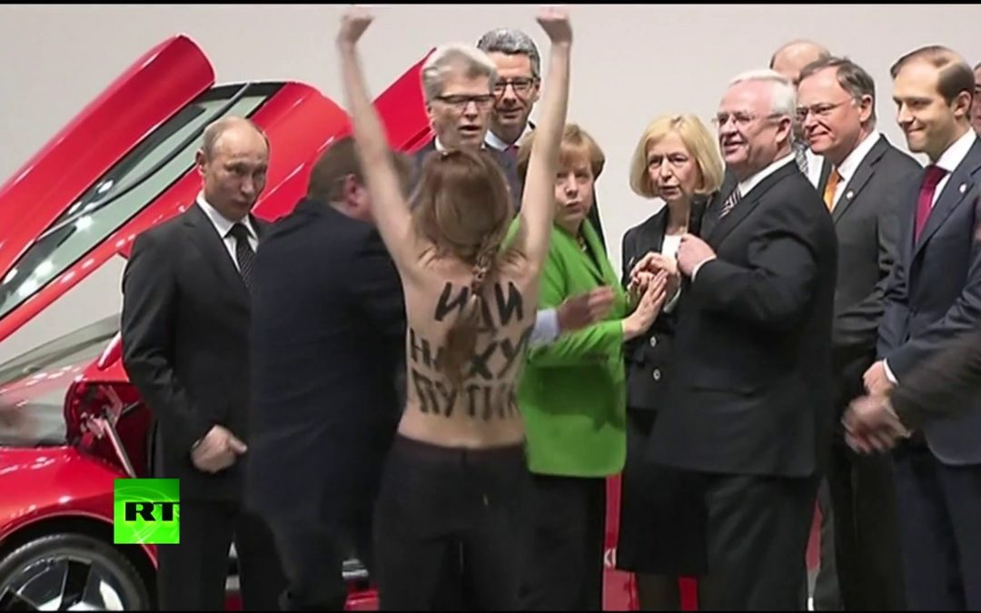 "Performing the  ""Just Princess Warrior"" Symbolism and Strategy in Femen's Emancipatory Activism"