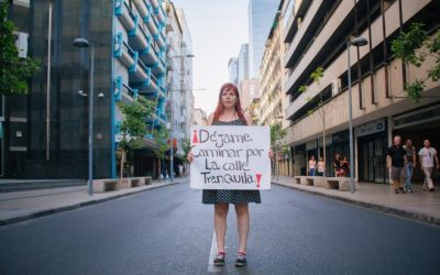 "Should Street Harassment Be Made Illegal?  Young Feminists in Chile Say ""Yes"""