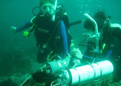 Mitzy conducting conduct oceanographic monitoring