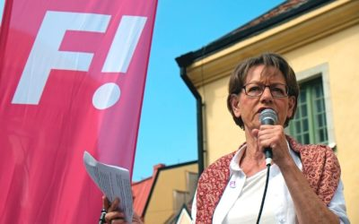 In Conversation With: Gudrun Schyman, Founder of Europe's First Feminist Party
