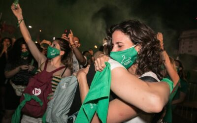 """""""The Green Scarf, Emblem Of The Struggle For Legal Abortion, Has Already Transcended Borders,"""" Mariela Belski, Amnesty Argentina."""