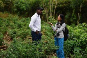 Thin Lei Win reporting in Rwanda